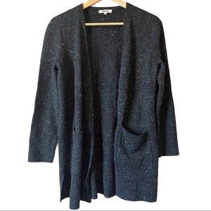 Madewell long sleeve solid sweater cardigan